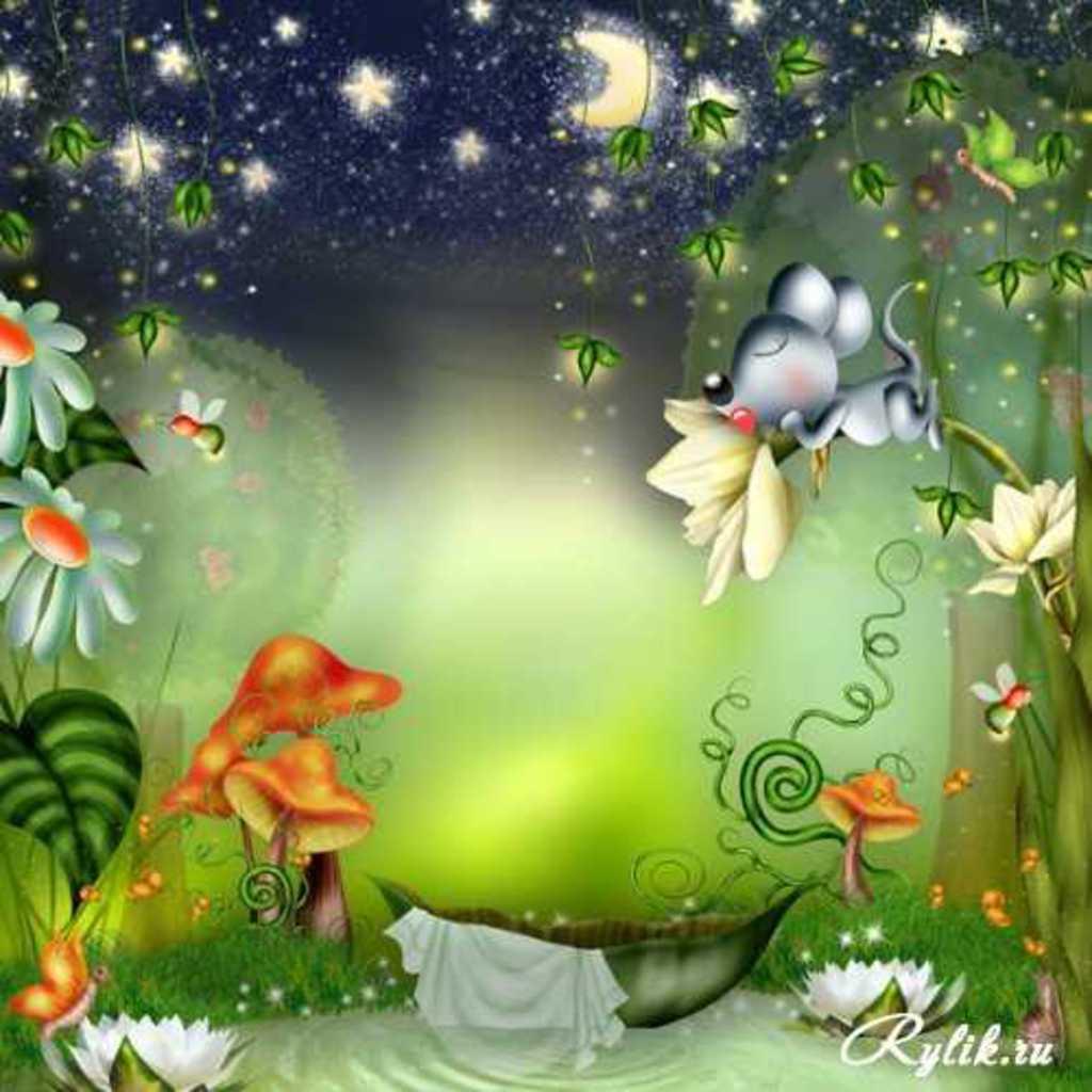 Детские фотообои Сказочный лес на стену - популярный сюжет №31230 ... | 1024x1024